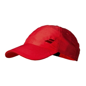 Tennis Hats and Visors Babolat Basic Logo Cap  Tomato Red 5UA12215027