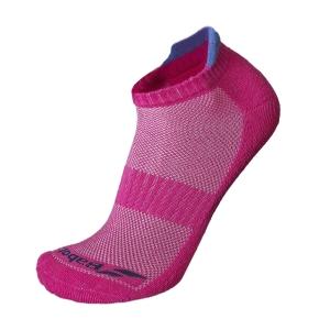 Calcetines de Tenis Babolat Invisible x 2 Calcetines Mujer  Fandango Pink/Wedgewood 5WA13615011