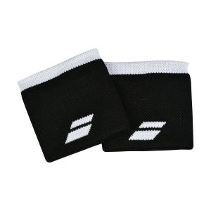 Fasce e Polsini Tennis Babolat Logo Polsini  Black/White 5UA12612001