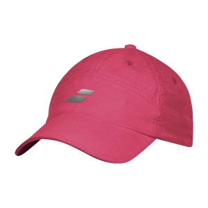 Tennis Hats and Visors Babolat Microfiber Cap Woman  Red Rose 5UA12225028