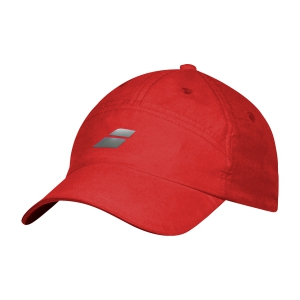 Tennis Hats and Visors Babolat Microfiber Cap  Tomato Red 5UA12225027