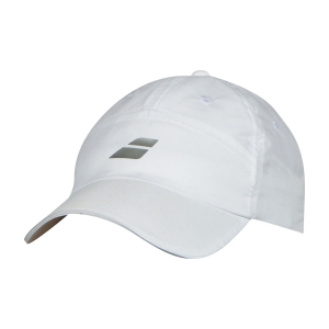Tennis Hats and Visors Babolat Microfiber Cap  White 5UA12221000