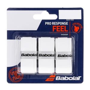 Overgrip Babolat Pro Response x 3 Overgrip  White 653048101
