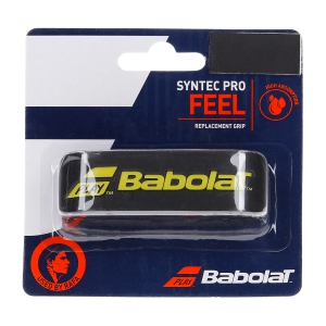 Replacement Grip Babolat Syntec Pro Grip  Black/Yellow 670051317