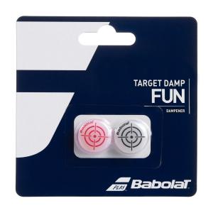 Antivibrador Babolat Target x 2 Antivibradores  Black/Red 700047189