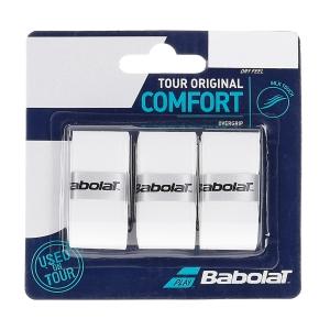 Overgrip Babolat Tour Original x 3 Overgrip  White 653047101