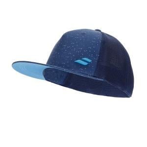 Tennis Hats and Visors Babolat Trucker Cap  Estate Blue 5UA12244000