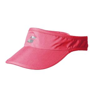 Tennis Hats and Visors Babolat Logo Visor Girl  Red Rose 5GA12315028