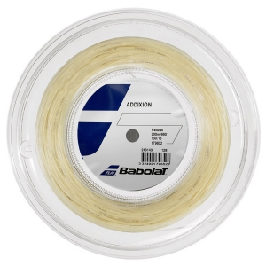Multifilament String Babolat Addixion 1.30 String Reel 200 m  Natural 243143128130