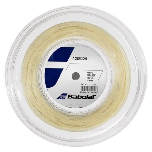 Multifilament String Babolat Addixion 1.35 String Reel 200 m  Natural 243143128135