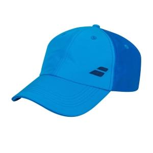 Tennis Hats and Visors Babolat Basic Logo Cap  Blue Aster 5UA12214049