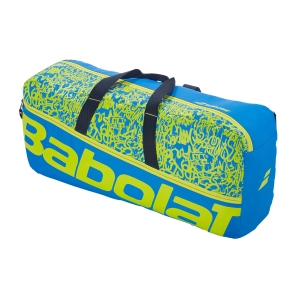 Tennis Bag Babolat Classic M Duffle  Blue/Yellow Lime 758001325