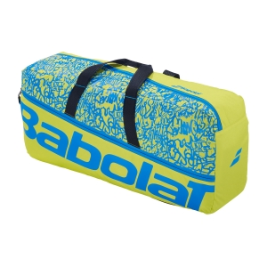 Tennis Bag Babolat Classic M Duffle  Yellow Lime/Blue 758001326