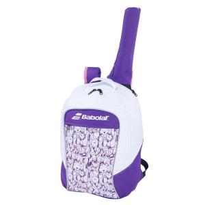Tennis Bag Babolat Club Backpack Girl  White/Purple 753083167