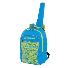 Babolat Boy Club Backpack Boy - Blue/Yellow/Lime