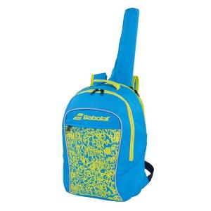 Tennis Bag Babolat Boy Club Backpack Boy  Blue/Yellow/Lime 753083325