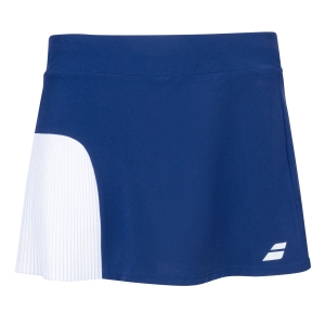 Shorts and Skirts Girl Babolat Compete Skirt Girl  Estate Blue/White 2GS200814001