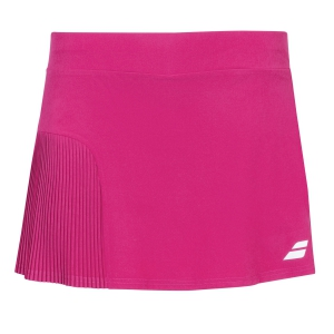 Shorts and Skirts Girl Babolat Compete Skirt Girl  Vivacious Red 2GS200815031