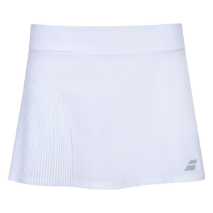 Shorts and Skirts Girl Babolat Compete Skirt Girl  White 2GS200811000