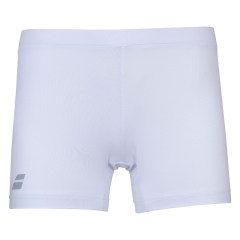 Babolat Compete 3in Shorts Girl - White