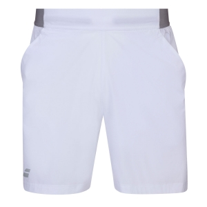 Tennis Shorts and Pants for Boys Babolat Compete 5in Shorts Boy  White 2BS200611000
