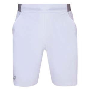Men's Tennis Shorts Babolat Compete 9in Shorts  White 2MS200511000