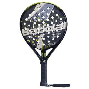 Padel Racket Babolat Defiance Carbon Padel  Black/Champain/Yellow 150077332