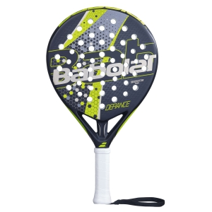 Padel Racket Babolat Defiance Padel  Black/Yellow/Silver 150079279