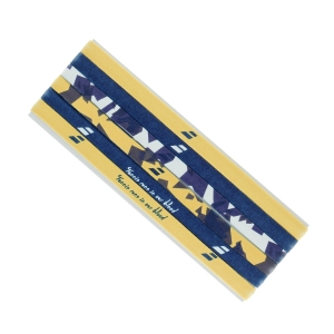Tennis Head and Wristbands Babolat Elastic Band Woman  Buttercup/Estate Blue 5WA12927009