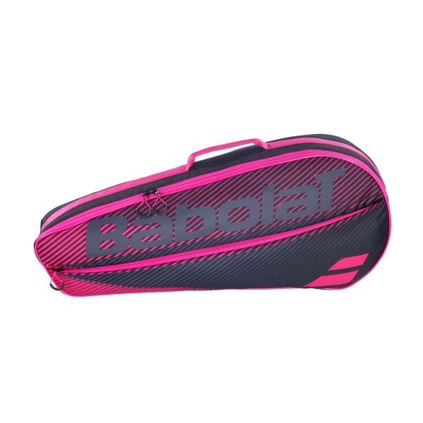 Babolat Essential Club x 3 Bag - Black/Pink