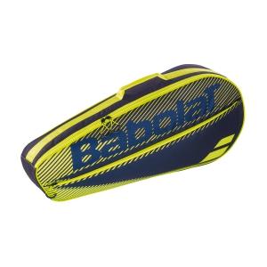 Tennis Bag Babolat Essential Club x 3 Bag  Black/Yellow 751202142