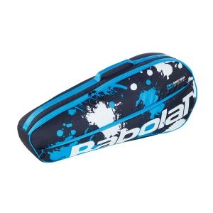 Tennis Bag Babolat Essential Club x 3 Bag  Black/Blue/White 751202164