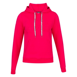 Tracksuit and Hoodie Girl Babolat Exercise Hoodie Girl  Red Rose 4JP10415028