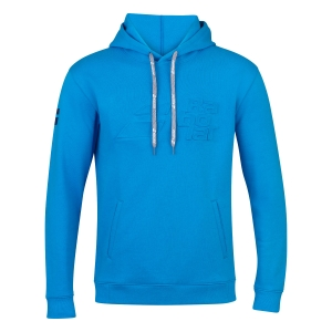 Boy Tracksuit and Hoodie Babolat Exercise Hoodie Boy  Blue Aster 4JP10414049