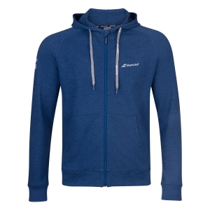 Boy Tracksuit and Hoodie Babolat Exercise Hoodie Boy  Estate Blue Heather 4BP11214005