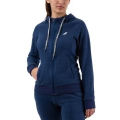 Babolat Exercise Zip Hoodie - Estate Blue Heather