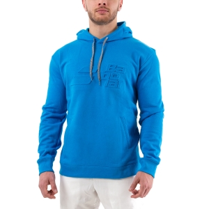 Men's Tennis Shirts and Hoodies Babolat Exercise Hoodie  Blue Aster 4MP10414049