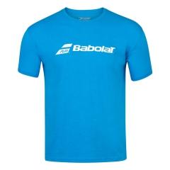 Babolat Exercise Camiseta Niño - Blue Aster Heather