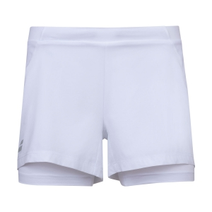 Skirts, Shorts & Skorts Babolat Exercise 2 in 1 3in Shorts  White 4WP10611000