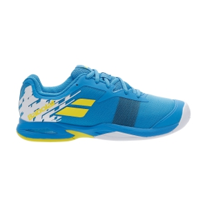 Junior Tennis Shoes Babolat Jet All Court Junior  Malibu Blue 33S206484062