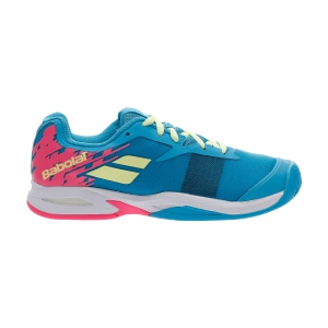 Scarpe Tennis Junior Babolat Jet Clay Bambina  Capri Breeze/Pink 33S207304066