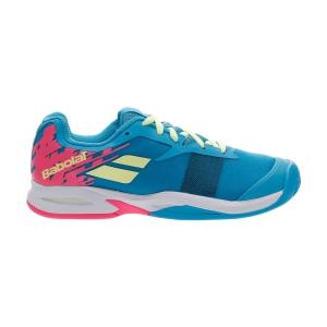 Junior Tennis Shoes Babolat Jet Clay Girl  Capri Breeze/Pink 33S207304066