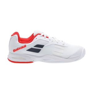 Scarpe Tennis Junior Babolat Jet Clay Bambini  White 33S207301000