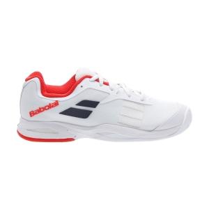Calzado Tenis Niños Babolat Jet Clay Ninos  White 33S207301000