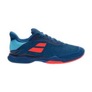 Men`s Tennis Shoes Babolat Jet Tere Clay  Blue/Fluo Strike 30S206504068