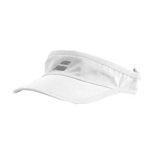 Tennis Hats and Visors Babolat Logo Visor Girl  White 5GA12311000