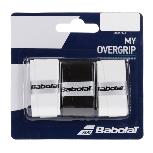 Overgrip Babolat My Overgrip x 3 Overgrip  Black/White 653045145