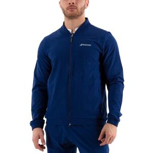 Men's Tennis Jackets Babolat Play Jacket  Estate Blue 3MP11214000