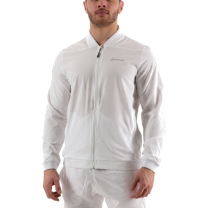 Men's Tennis Jackets Babolat Play Jacket  White 3MP11211000