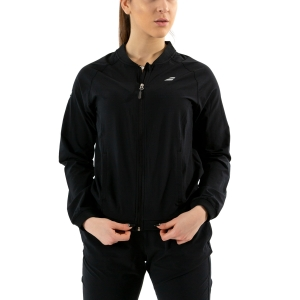 Tennis Women's Jackets Babolat Play Jacket  Black 3WP11212000